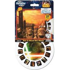 Attack of the Clones <b>Star Wars</b> VIEW-<b>MASTER</b> VIEWMASTER 21 <b>3D</b> ...