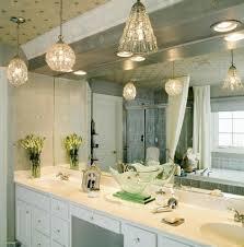 crystal pendant lamp ambient bedroom light large white bathroom vanity flower vase drop in sink bathroom vanity lights pendant