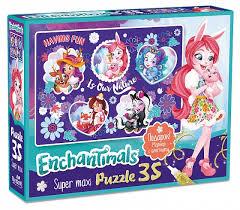 <b>Пазл Origami</b> Enchantimals Nature <b>35</b> эл - купить в Москве: цены в ...