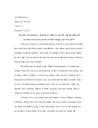 ut essay   revised jacob blackthorne english iv ap dual chavez st september   describe a circumstance