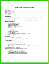 basic cv templates retailreference letters words reference basic cv templates retail retail banking resume example jpg
