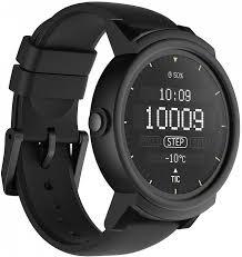 Купить смарт-часы Ticwatch <b>TicWatch E</b> (<b>Белый</b>), черный, черный ...