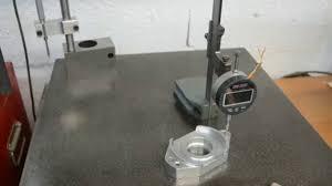 Using a dial gauge on a <b>vernier height gauge</b> - YouTube