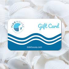 Tide House Gift Card - TideHouse Waterfront Restaurant - Stuart ...