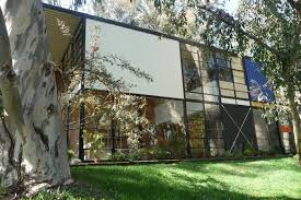 Figure    Charles and Ray Eames  Case Study House     Eames House   Los Angeles  Source  Julius Shulman        Digital Image  Available from  Architectural