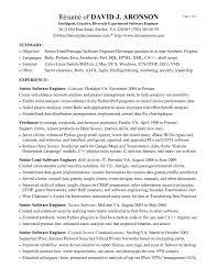 computer software engineering resume   sales   developer   lewesmrsample resume  software developer resume sles experienced