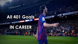 lionel messi all 401 goals in career 2004 2014 hd