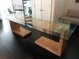 All Glass Dining Room Table Glass Kitchen Dining Tables Wayfair Table Loversiq