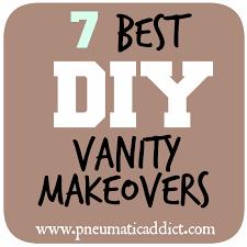making bathroom cabinets:  best diy bathroom vanity makeovers