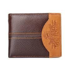 Buy Famous <b>Luxury Brand Genuine Leather</b> Men Wallets Coin ...