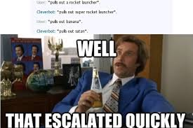 memes will farrell clever bot theamericankid • via Relatably.com