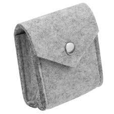 <b>Felt Cloth Storage Bag</b> Case For Earphone EVA Headphone Case ...