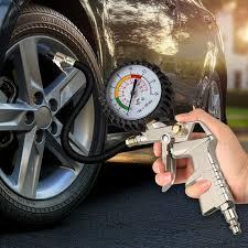 Car <b>Tire</b> Pressure Monitoring <b>Multi</b>-<b>Function Inflatable</b> Gun Pressure ...