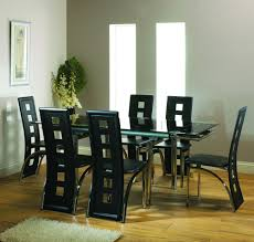 dining sets seater:  seater round glass dining table seater dining table a round