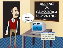 debate online classes vs classroom learning