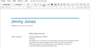 cover letter templates google docs