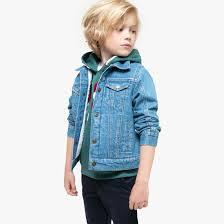 <b>Блузон джинсовый</b>, подкладка под мутон, 3-14 лет деним <b>La</b> ...