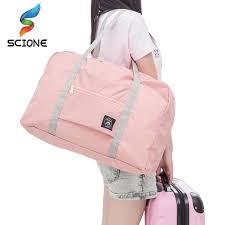 Hot Sports <b>Gym Bags</b> Portable <b>Female</b> Folding Storage Outdoor ...