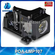 LMP107 /<b>POA</b>-LMP107/610-330-4564 Projector Lamp With housing ...