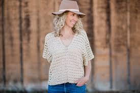 <b>Poncho</b>-<b>Style</b> Summer Crochet Top - Free Pattern! » Make & Do Crew