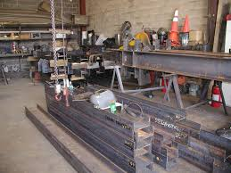 welding structural steel fabrication fully welded stiffener plates fabrication shop brooklyn ny