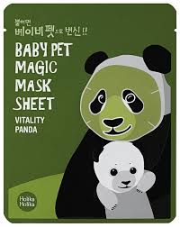 Holika Holika <b>тканевая маска</b>-мордочка Baby Pet Magic Панда ...