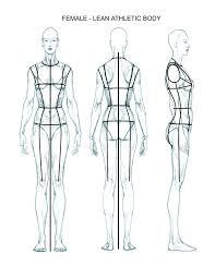 drawing fashion e book series justine limpus parish s blog female flats body template lean athletic