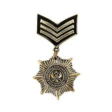 <b>2018 New men's Vintage</b> British college wind metal Star Medal ...