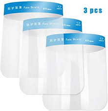 <b>Face</b> and Eyes Protective Visor, Lightweight Plastic <b>Adjustable</b> ...