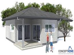 Low Cost Modern House Plan Eco Modern House Plans  modern home