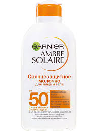 Ambre Solaire <b>Солнцезащитное молочко для</b> лица и тела, SPF ...