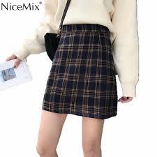 <b>NiceMix 2019 Summer</b> Skirt Women Vintage Rose Embroidery High ...
