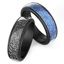 Ikonfitness Silicone Wedding Ring, Two Piece ... - Amazon.com
