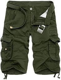 Elibone Military Cargo Shorts <b>Men Summer</b> Camouflage Pure ...