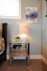 Modern Bedroom Side Tables Nightstands And Tables Modern Elegant Mirrored Nightstand