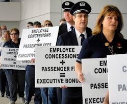 airline unions seek a share of the industry upturn the new york 28labor jumbo jpg