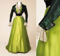 essay encounters the historic fashion dom afternoon dress 1907 9 shot silk plain silk and silk net label g worth paris collection manchester city galleries 1947 4254