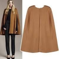 Camel Wool Blend Coat for Sale