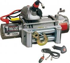 Купить <b>Лебедка</b> автомобильная электрическая T-MAX EW-12500 ...