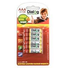 Щелочные <b>батарейки AAA</b> LR03-12B