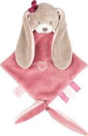 <b>Игрушка мягкая Nattou</b> Doudou малая Nina, Jade & Lili Кролик ...