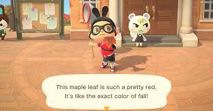 Animal Crossing: New Horizons fall <b>Maple Leaf</b> DIY recipe list ...