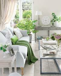 bright living room lighting ideas light gray and green living room design idea