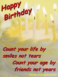 Quotes About Life And Birthdays. QuotesGram via Relatably.com