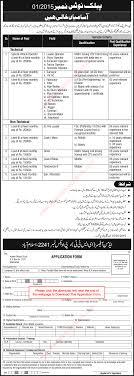 po box islamabad jobs application form po box 2241 islamabad jobs 2015 application form atomic energy commission