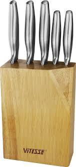 <b>Набор</b> кухонных <b>ножей Vitesse</b>, на подставке, VS-2743 ...