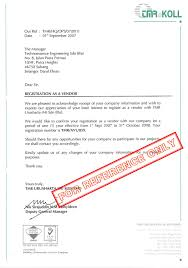registration and certificate techn ce engineering sdn bhd registration letter from tmr urusharta m sdn bhd