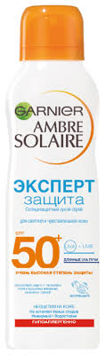 GARNIER Ambre Solaire солнцезащитный <b>сухой спрей для</b> тела ...