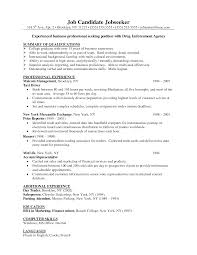 resume s business degree