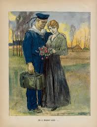changing lives gender expectations and roles during and after image from our blue jackets a german propaganda leaflet 1916